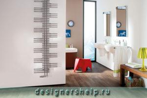 электрический дизайнерский полотенцесушитель