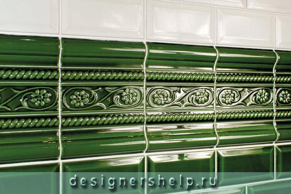 Современная укладка плитки на стену