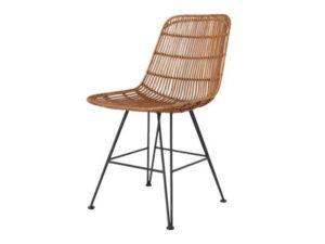 Плетеный современный стул
