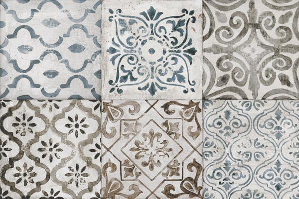 Пример плитки с узором под мозаику