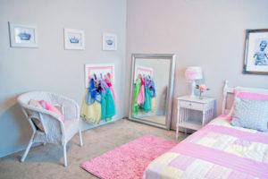 Зеркало в комнате меленькой принцессы