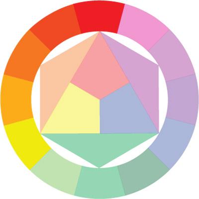 аналогичная цветовая схема