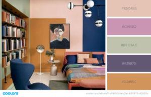 Цветовая палитра интерьера