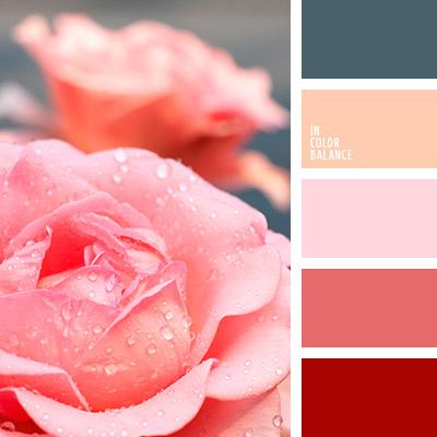Цветовая палитра красный