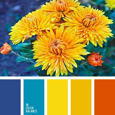 Цветовая палитра желтый