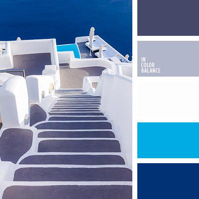 Цветовая палитра синий