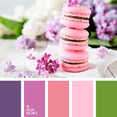 Цветовая палитра фиолетовый