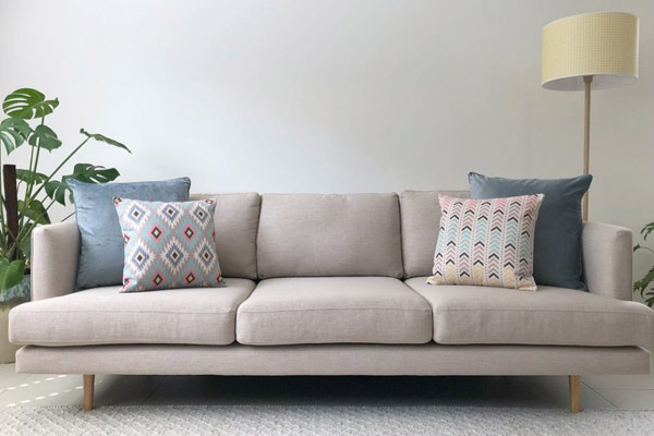 декоративные подушки для дивана разных размеров
