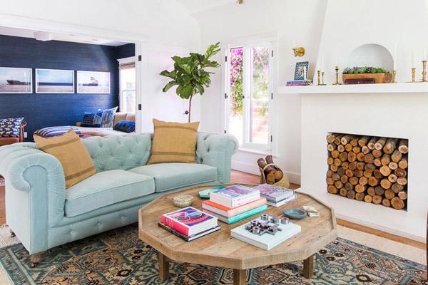 Интерьер гостиной от известного дизайнера