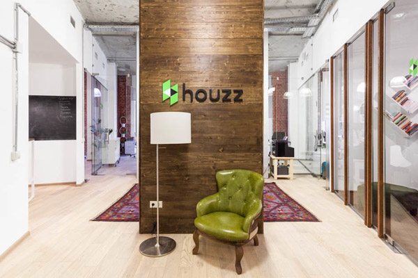 Интерьер офиса Houzz
