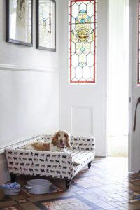 лежанк для собаки при входе