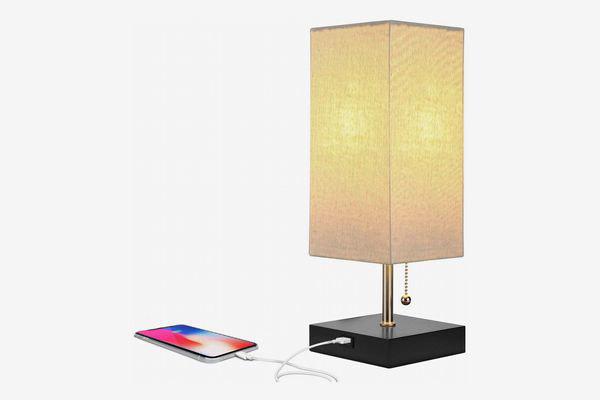 маленькая лампа с разъемом для зарядки телефона