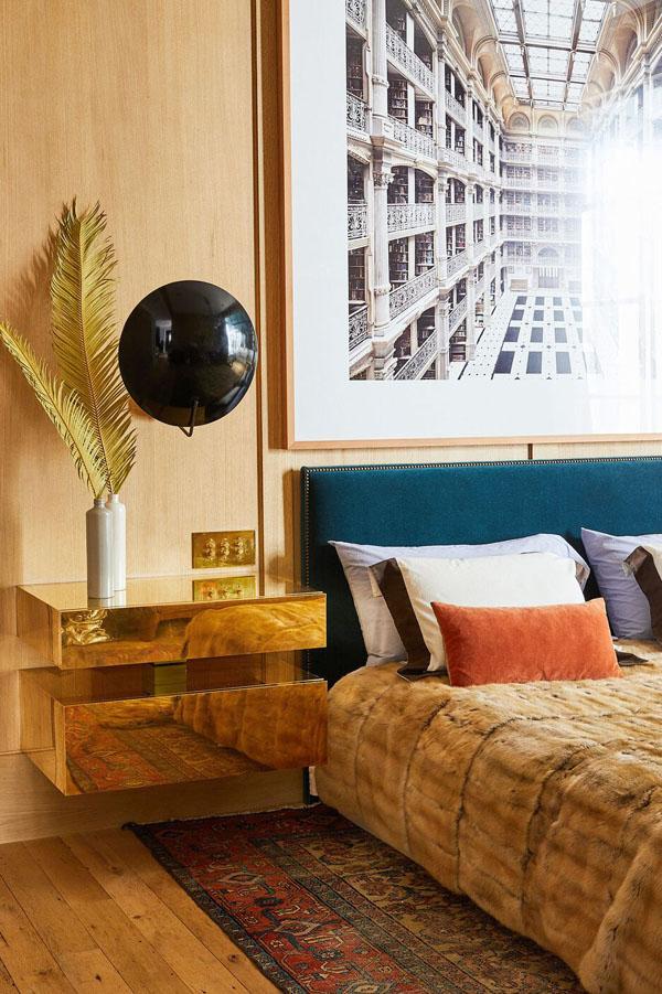 декор спальни в современном стиле