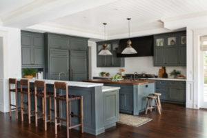 темно серые кухонные фасады