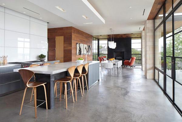 плиточный поля с эффектом бетона