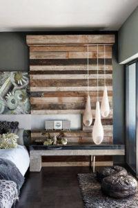 фрагмент стены в спальне