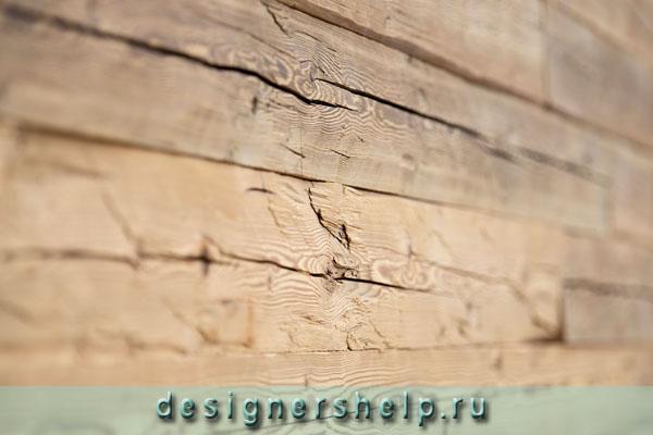 стена из амбарной доски в интерьере