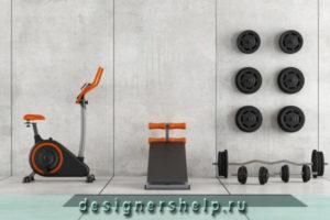 домашний спортзал дизайн