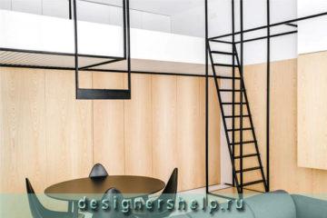умный интерьер квартиры студии