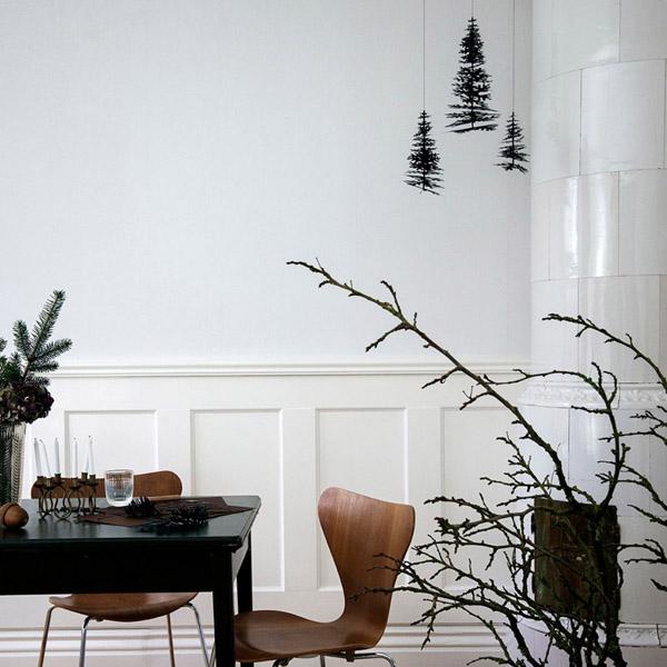 подвесные елки