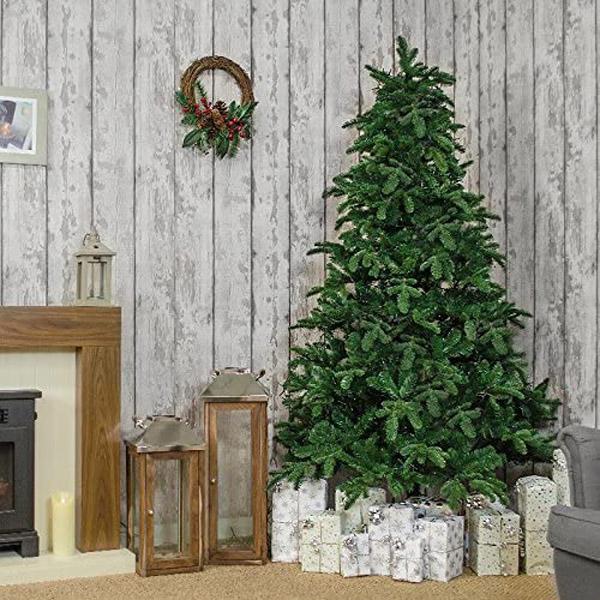 дизайн новогодней елки без игрушек