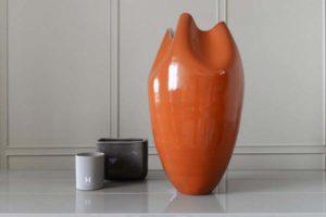 декоративная ваза в интерьере