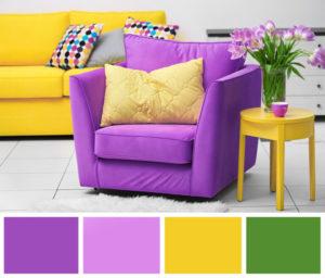цветовая палитра из трех цветов