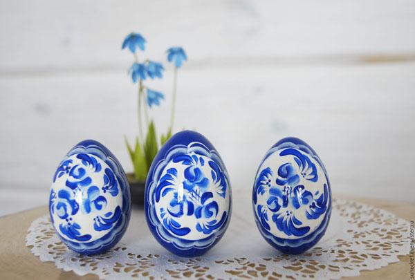 пасхальные декоративные яйца