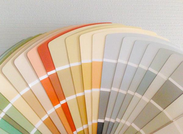 дизайнеркая таблица для подбора цвета
