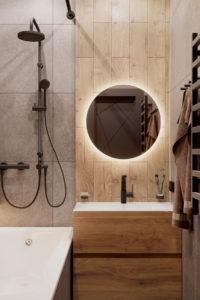 современный стиль в ванной