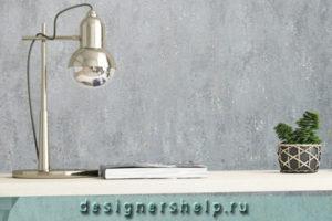 Имитация бетона на стене