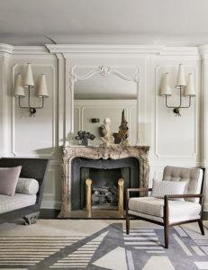 элегантная парижская гостиная