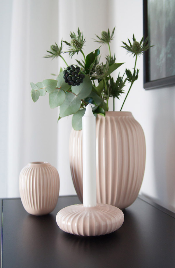 декоративные вазы плиссе